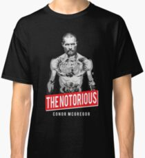 Conor Mcgregor The Notorious Classic T-Shirt