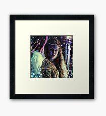 Erinyes: Megaera Framed Print
