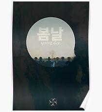 BTS spring day Poster