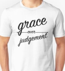 """Grace Over Judgement"" COLOSSIANS 3:13 T-Shirt"