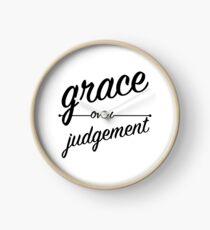 """Grace Over Judgement"" COLOSSIANS 3:13 Clock"