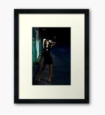 Fashion Shot Chloe Jane Street Location Framed Print
