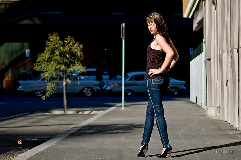 Fashion shot Chloe Jane Street Location Aspect 2 by Tony Lin