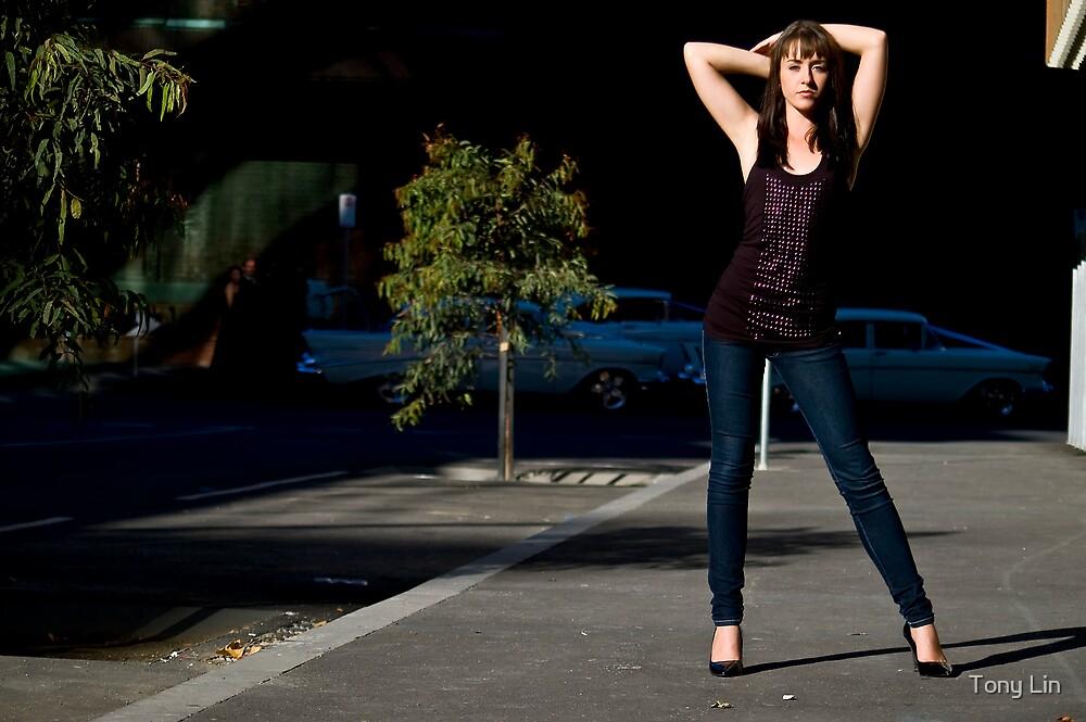 Fashion shot Chloe Jane Street Location Aspect 3 by Tony Lin