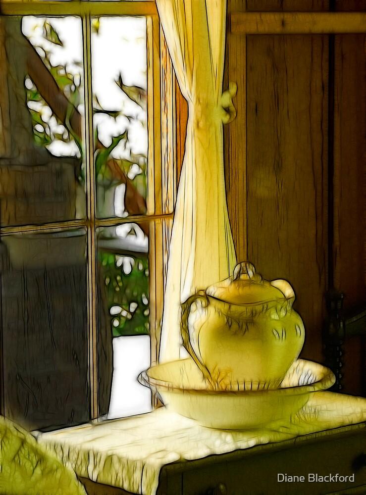 Pitcher Window by Diane Blackford
