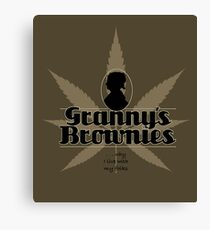 Granny's Brownies - Just For Fun Canvas Print