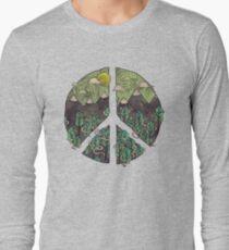 Peaceful Landscape Long Sleeve T-Shirt