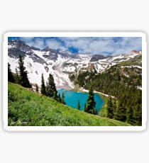 Lower Blue Lake Sticker