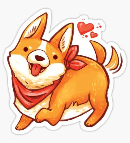 Cute Corgi  Sticker