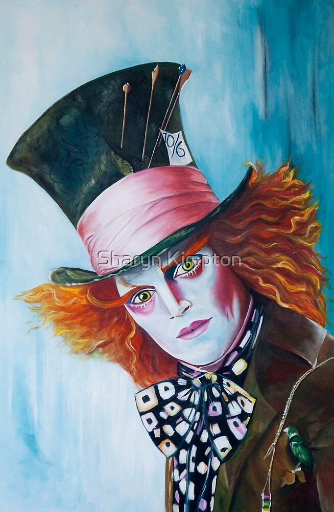 The Mad Hatter - Johnny Depp by Sharyn Kimpton