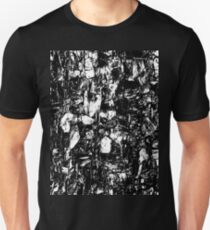 Abstract Black White T-Shirt