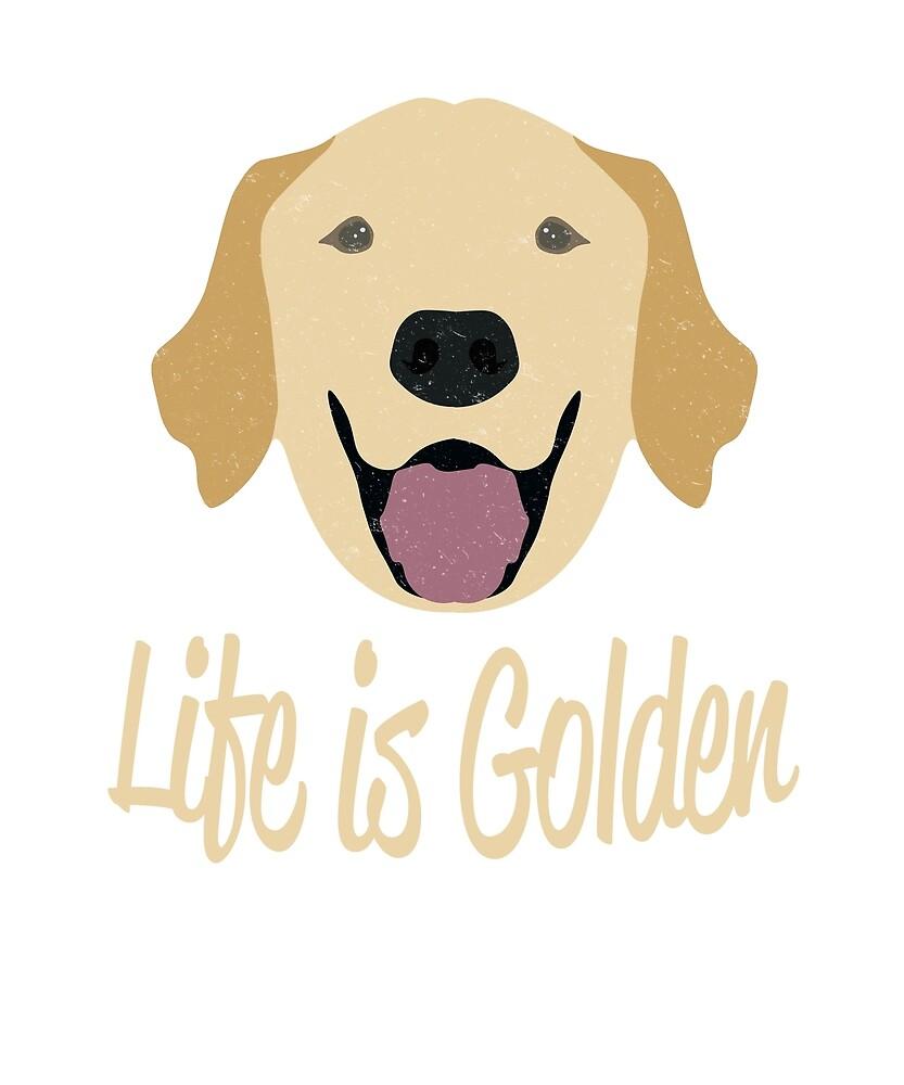 Life is Golden (Golden Retriever)  by karmcg