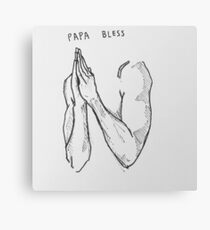 bless me up papa Canvas Print