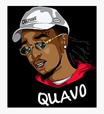 Quavo more swag than us Photographic Print