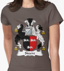 Steer (e) Womens Fitted T-Shirt