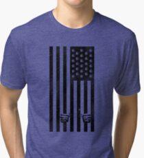 Land of the Free Marijuana Mary Jane Shirt Tri-blend T-Shirt