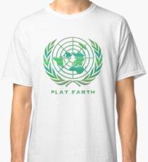 Flat Earth Classic Logo Classic T-Shirt