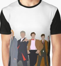 Doctor Who - New Series Doctors Graphic T-Shirt