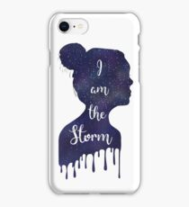 I Am The Storm Outer Space  iPhone Case/Skin