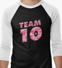 Team 10 Pink Camo: Jake Paul  T-Shirt
