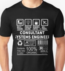 CONSULTANT SYSTEMS ENGINEER - NICE DESIGN 2017 Unisex T-Shirt
