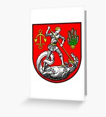 Heide Coat of Arms, Germany Greeting Card
