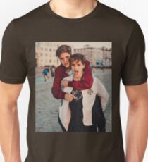 piggy ride martinez Unisex T-Shirt