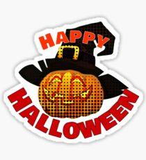 Adorable Happy Halloween Apparel  Sticker