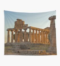 Greek Ancient Ruins (Temple)  Wall Tapestry
