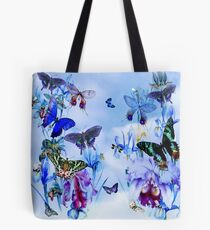 Orchids..Butterflies Take Flight ! Tote Bag