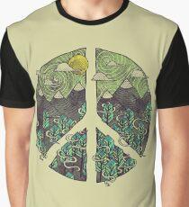 Peaceful Landscape Graphic T-Shirt
