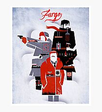All series characters of Fargo Photographic Print