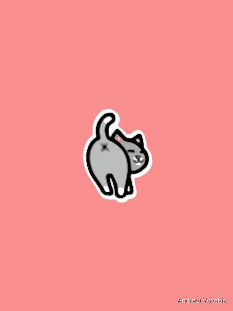Bitmoji Cat Butt Shirt by LostVox
