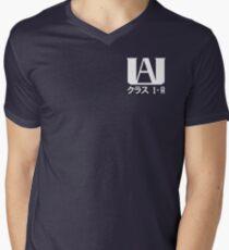 UA High Student (Mon Académie des Héros) T-shirt col V homme