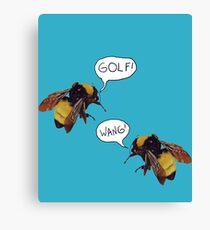 Golf Wang Scum Fuck  Bees Canvas Print