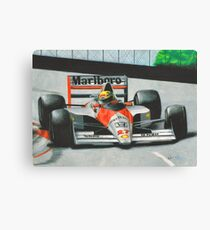 Formula One (F1) - Ayrton Senna Canvas Print