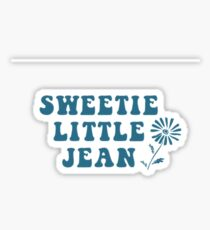 sweetie little jean Sticker