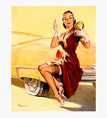 Gil Elvgren Pin up Photographic Print