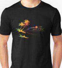 Earth is Flat - Tropical Horizon T-Shirt