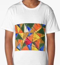 Triangles Long T-Shirt