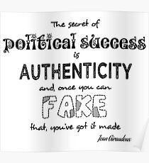 Political success Poster