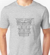 architectural column Slim Fit T-Shirt