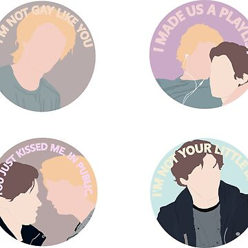 Eyewitness Circular Sticker Pack by laurenpaulin