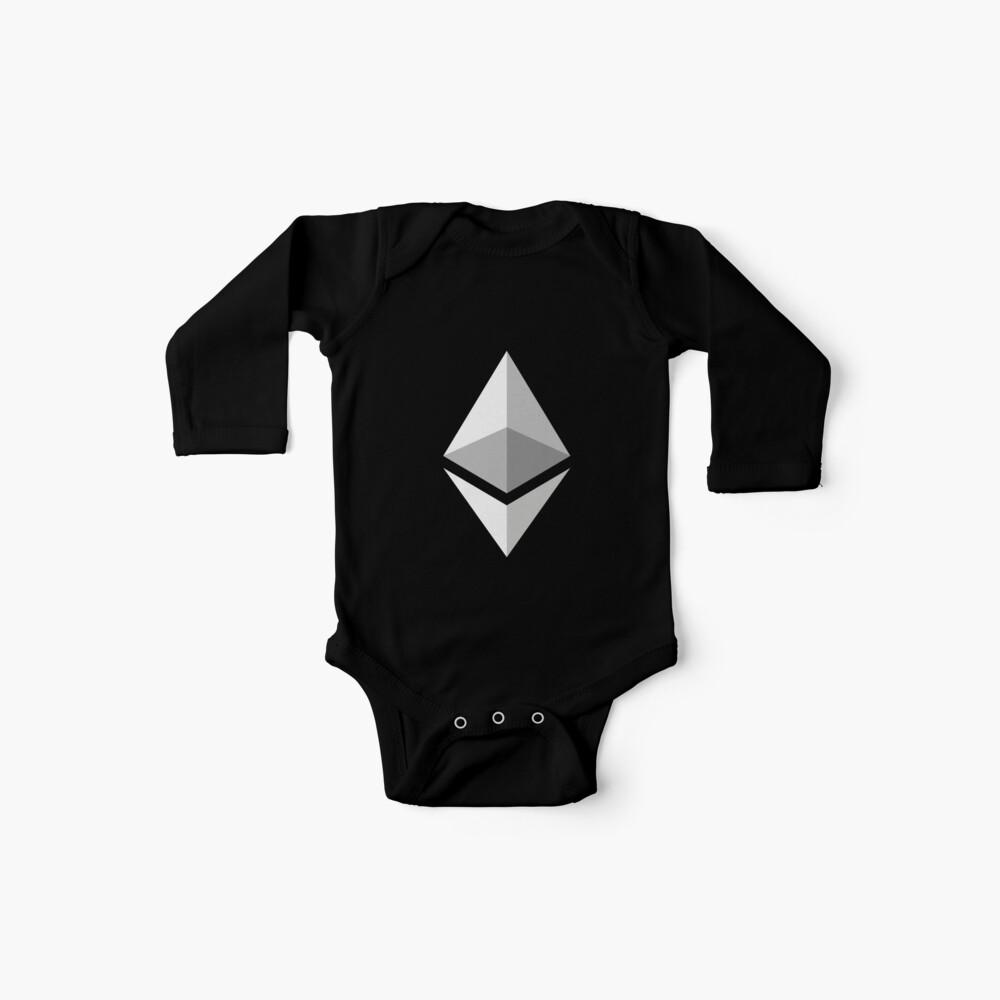 Ethereum Logo Baby Bodys