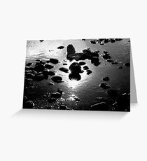 Starry Waters Greeting Card