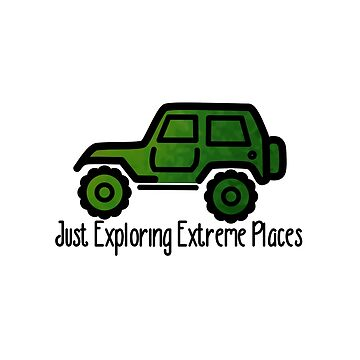 Olive Jeep - Exploring Extreme Orte von its-anna