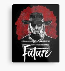 Swaggie men Future Metal Print