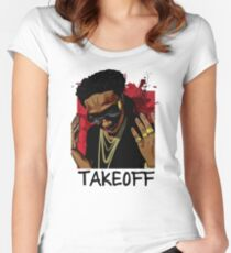 Takeoff swag Bro Women's Fitted Scoop T-Shirt