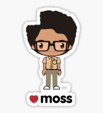 Love Moss - The IT Crowd Sticker