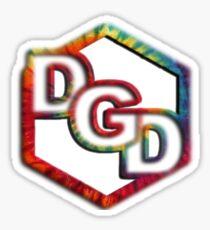 Dance Gavin Dance Tie-Dye Sticker
